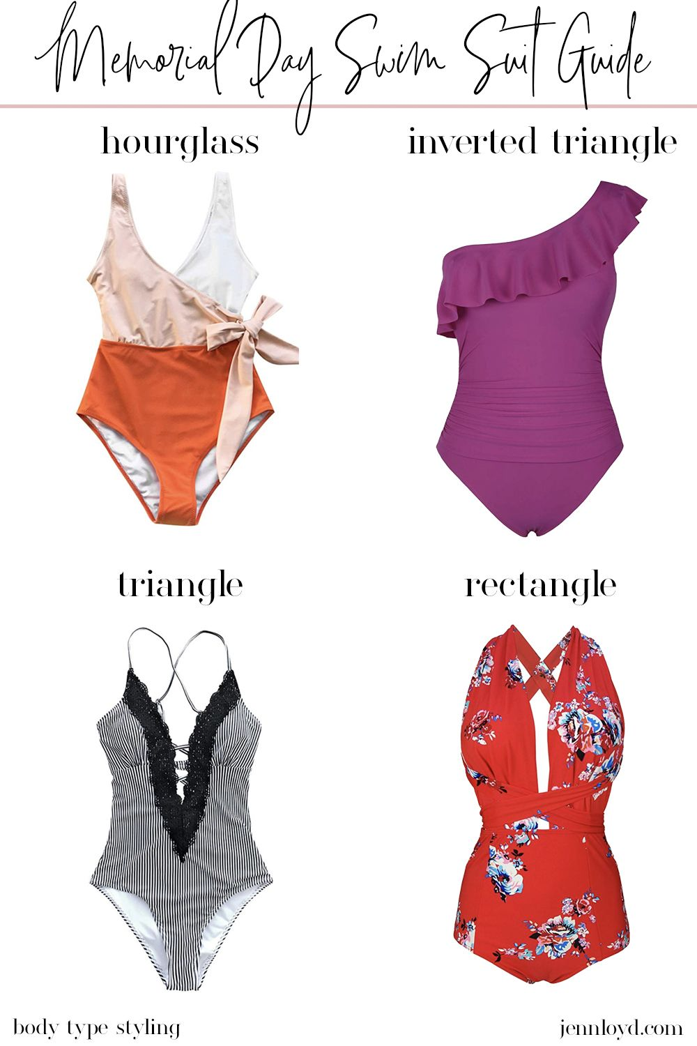 3f6975a992381 Memorial Day Swim Suit Guide | Shop With Style | Fashion, Suit guide ...