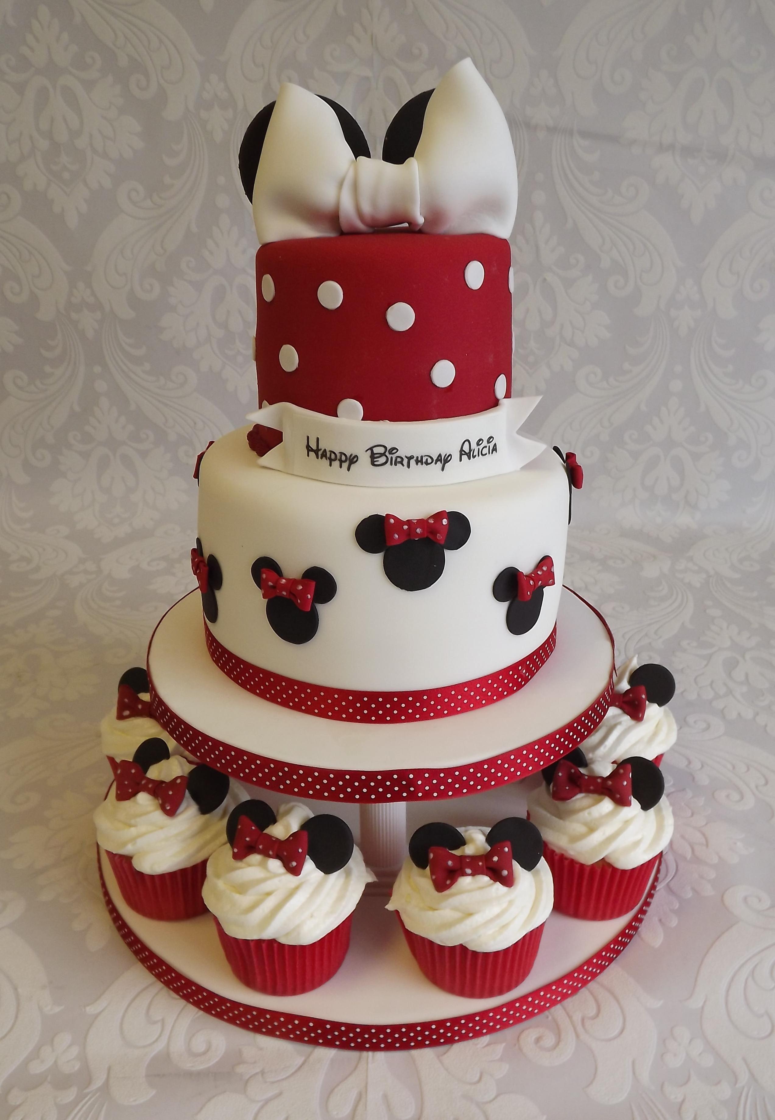 minnie mouse birthday cake near me