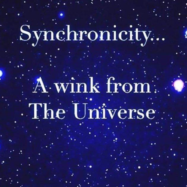 universe #synchronicity #signs #symbols #bepresent