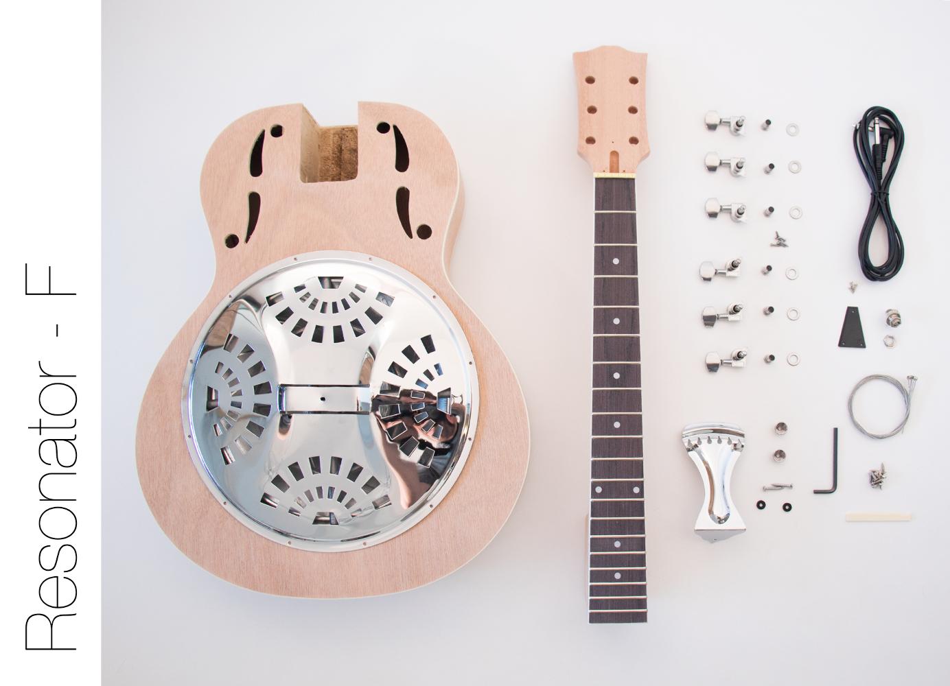 Diy Guitar Kit Resonator Guitar Acoustic Kit Ideas Of Acoustic Guitar Acousticguitar Resonator Guitar Guitar Kits Electric Guitar Kits