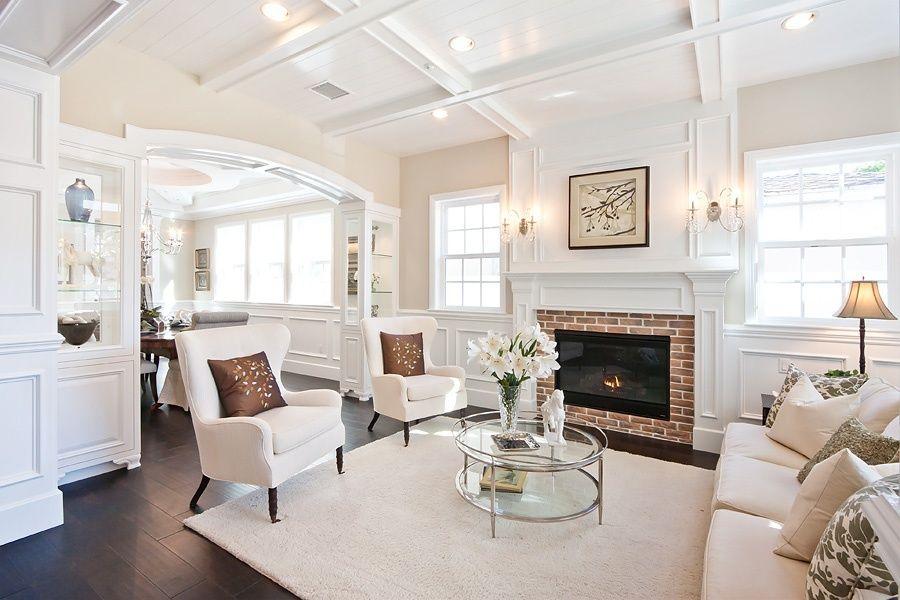 Traditional Living Room with Wayfair Custom Upholstery Avery Sofa, Wood  plank ceiling (tongue & - Traditional Living Room With Wayfair Custom Upholstery Avery Sofa
