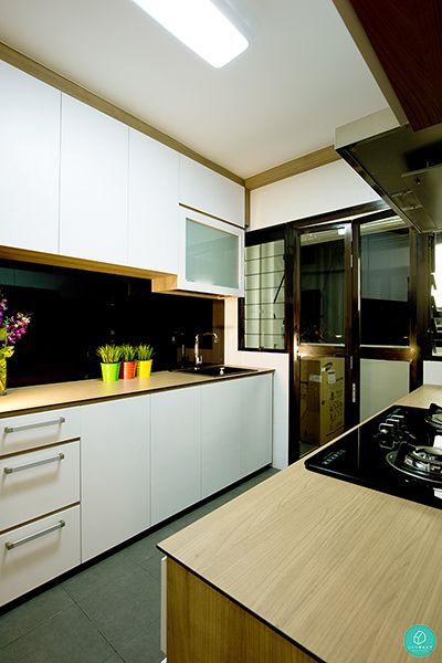 Kitchen Design For Hdb Flat thom-signature-punggol-field-scandinavian-kitchen | sg hdb flat