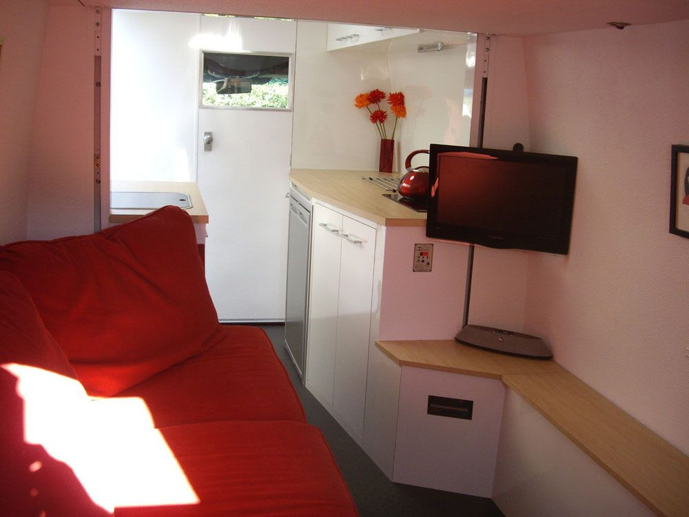 Photos Of A Self Build DIY Mercedes Sprinter Motorhome