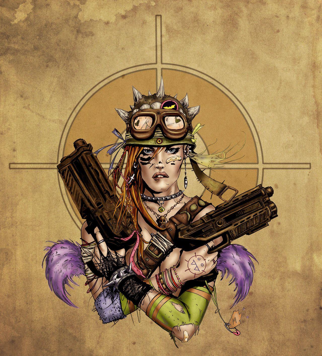 Tank Girl by *alexasrosa