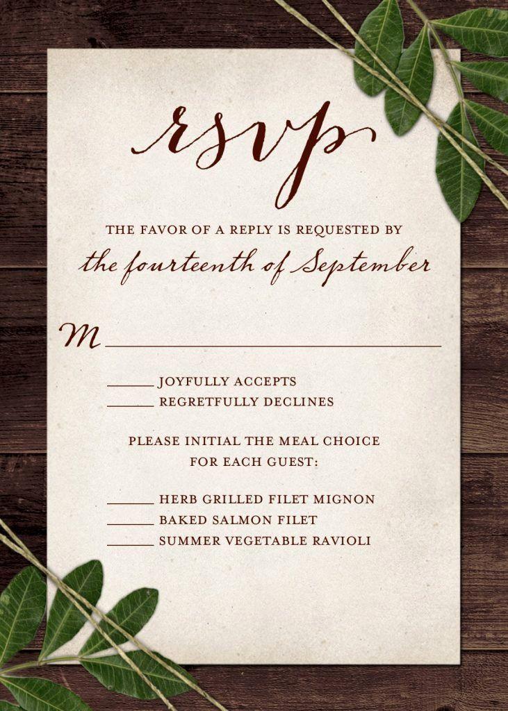 Wedding Invitation Plus One Beautiful Wedding Rsvp Wording And Card Etiquette 2019 Wedding Invitation Rsvp Wording Wedding Rsvp Wording Wedding Response Cards