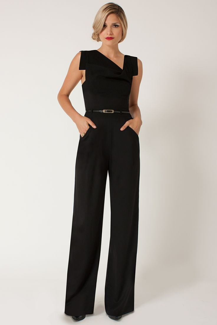 black jumpsuits for women  designer laurel berman of