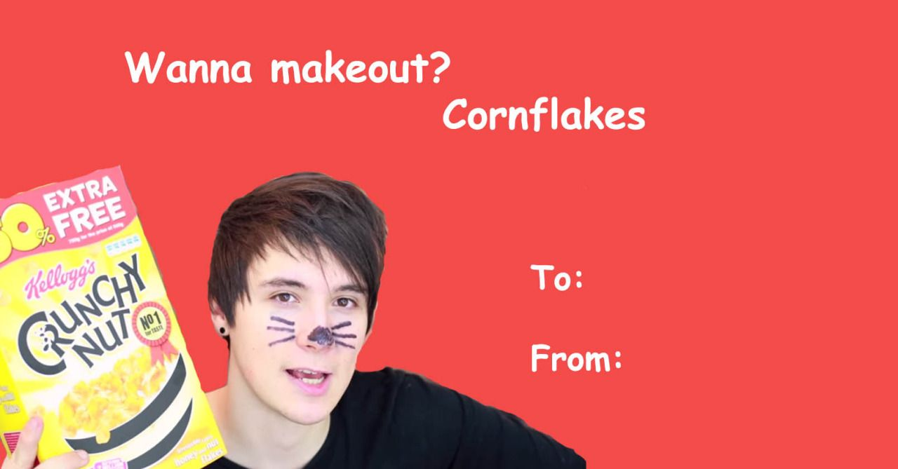 dan and phil valentines cards Google Search YOUTUBE – Youtube Valentines Day Cards