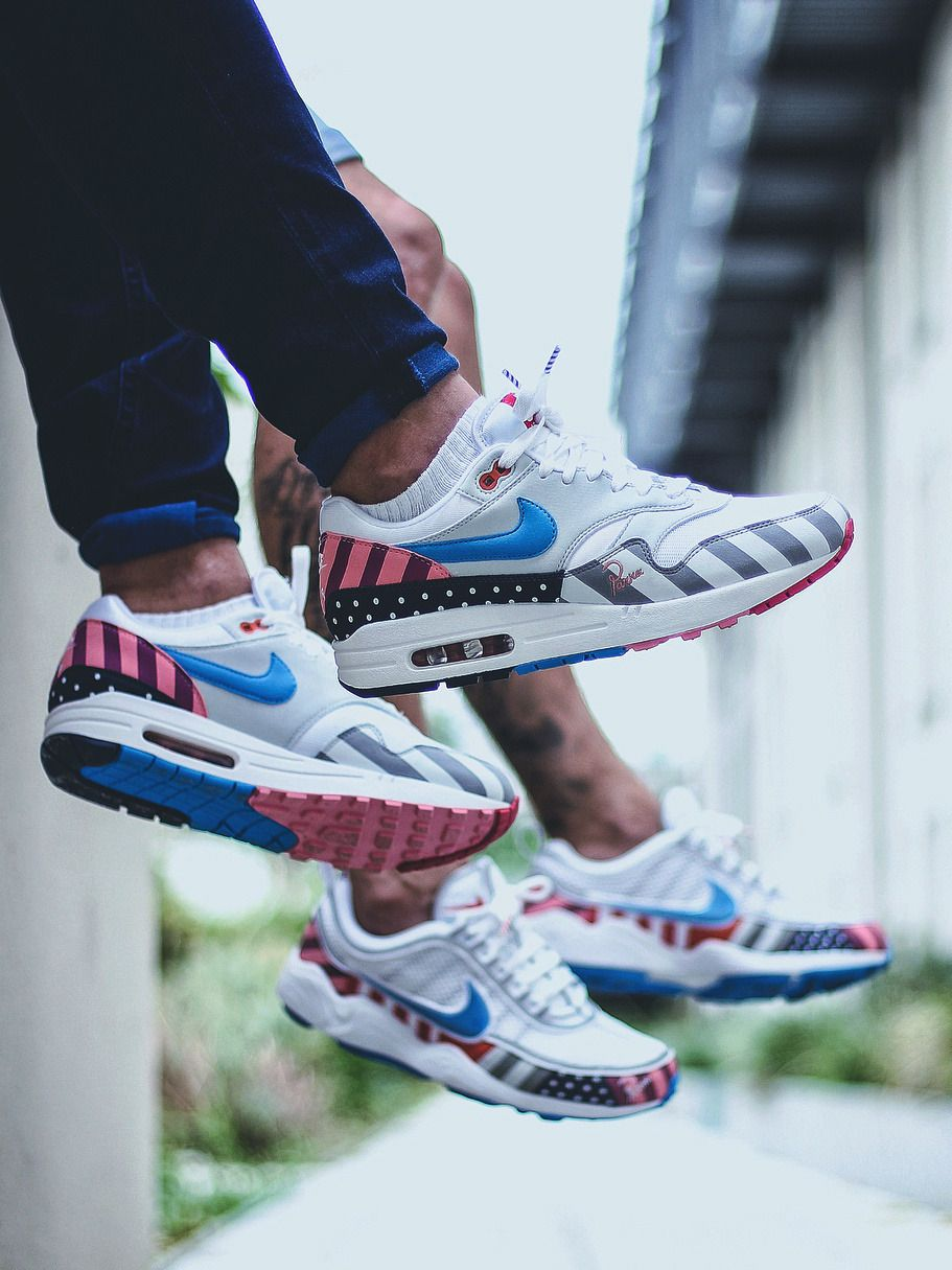 low priced 4a668 5befb Nike Air Max 1 Parra - 2018 (by sneakers_ink_) | Kicks On ...