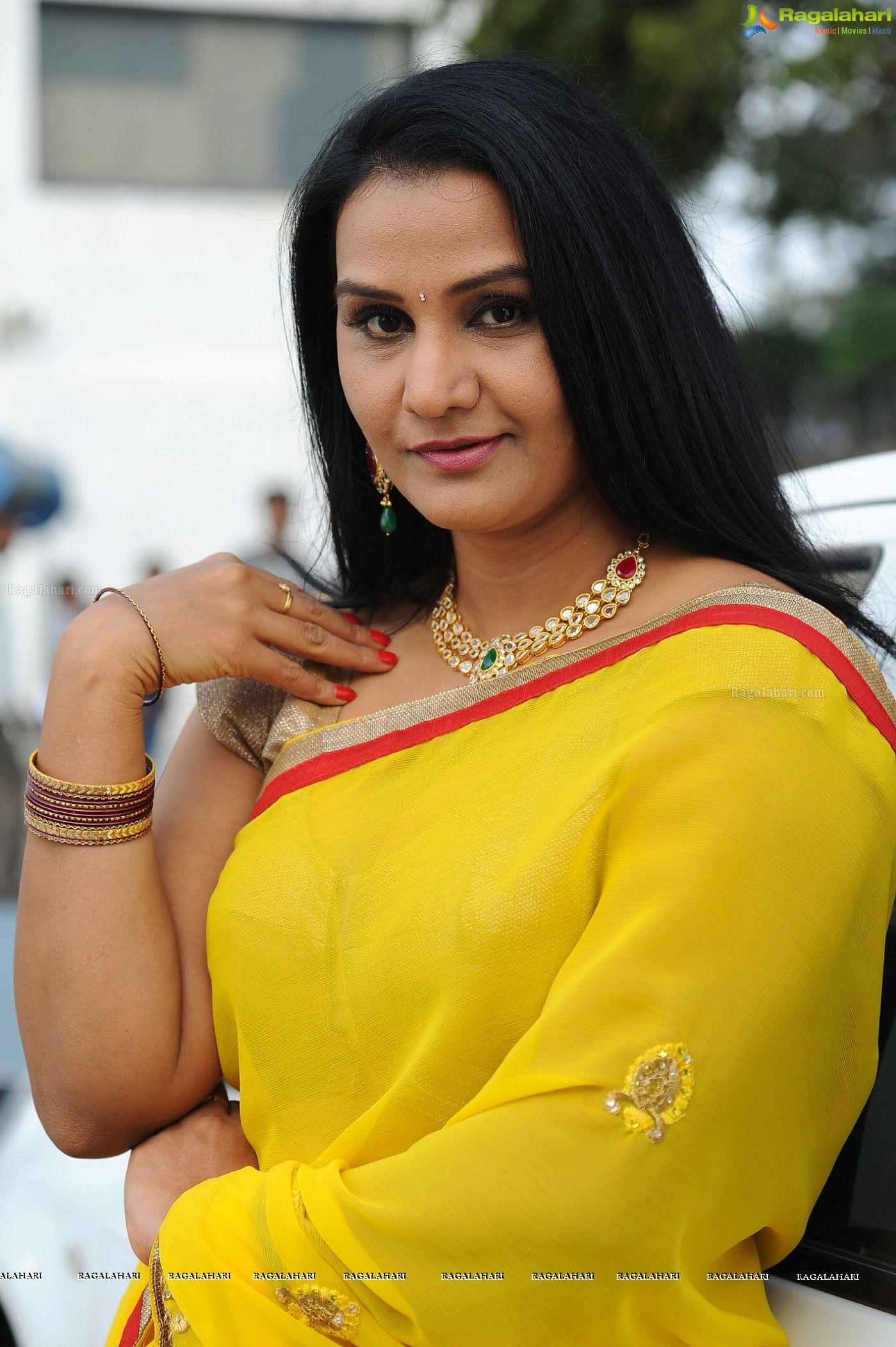 Telugu Character Artist Apoorva Saree Stills Image 21 Saree Indian Actresses Actresses