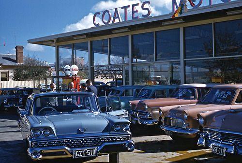 Pin By Dhh Usa On Vintage Car Dealerships Car Dealership