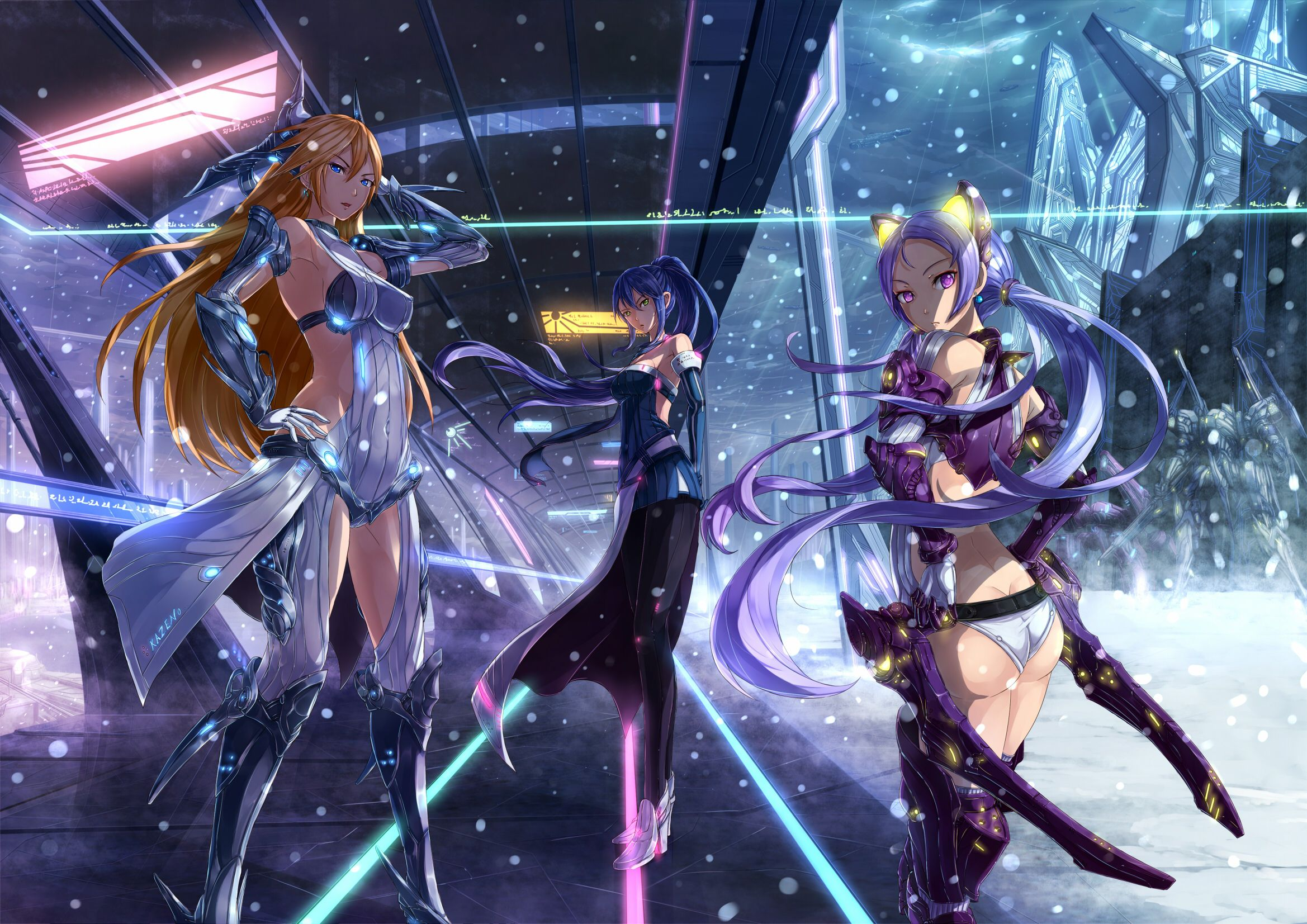Wallpaper Of The Week Mecha Girl 4 Anime Anime Wallpaper Live
