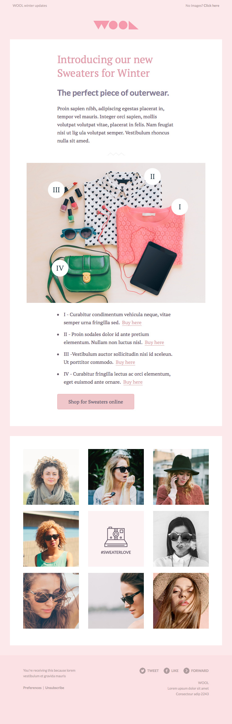 HTML email templates for free | Campaign Monitor | Bonbon | Web ...