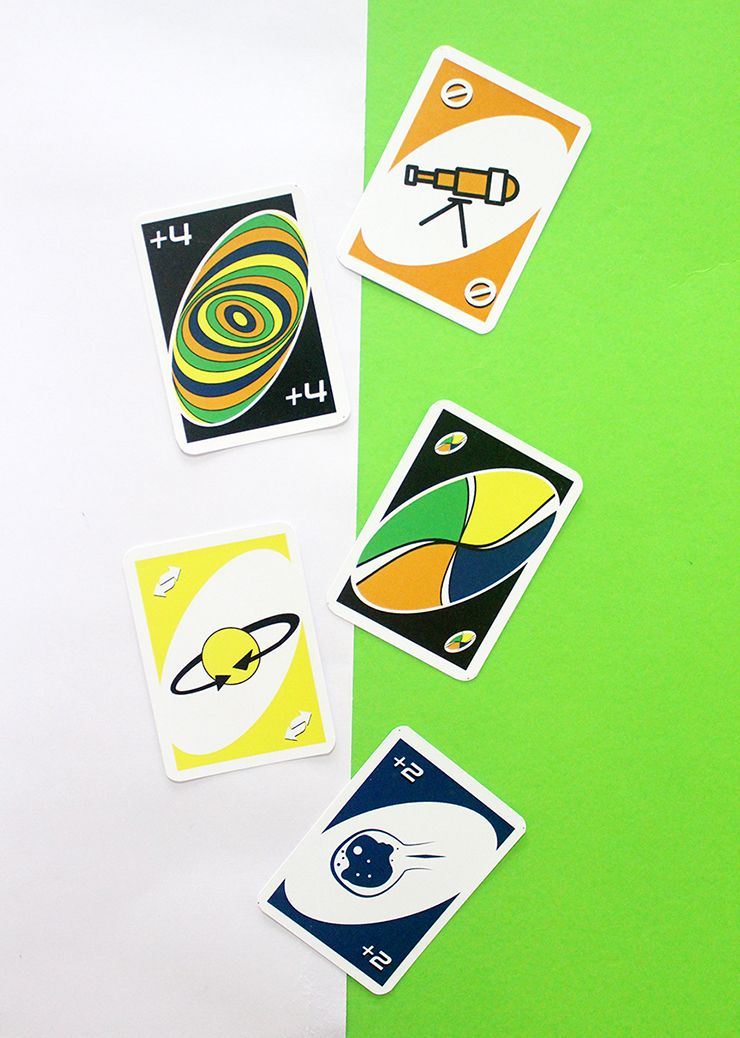 Space themed uno card game uno card game card games