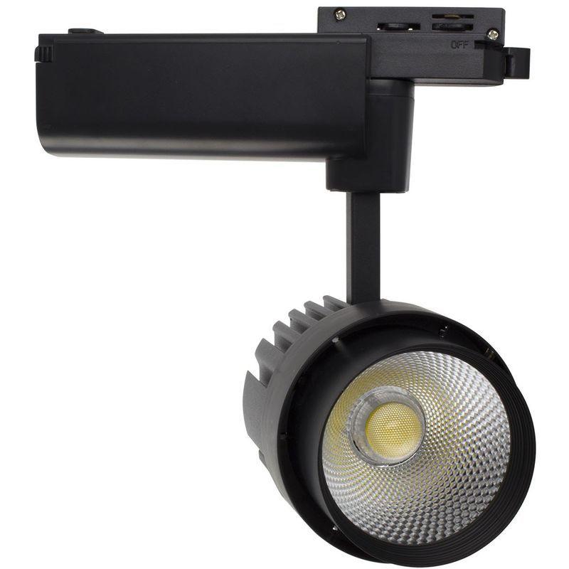 LEDKIA LIGHTING Spot Led Dora 30W Blanc pour Rail Monophas/é Blanc Neutre 4000K