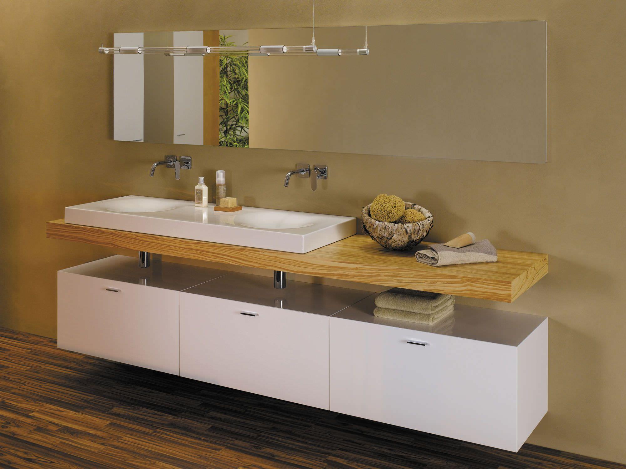 Badezimmermöbel holz modern  Die besten 25+ Unterschrank für aufsatzwaschbecken Ideen auf ...