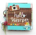 *****All Scrapbook Steals Summer Album Kit