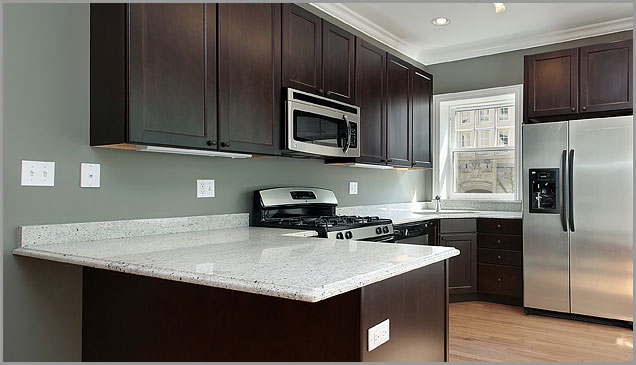 Dark Cabinets With White Granite Countertops : Kitchen Cabinet Colors With White  Countertops U2013 Kitchen Design Inspiration Possible White Counter Tops With  ...