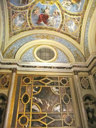 "Castello Estense ,""Cappela ducale"" , Ferrara, Province of Ferrara,Italy"