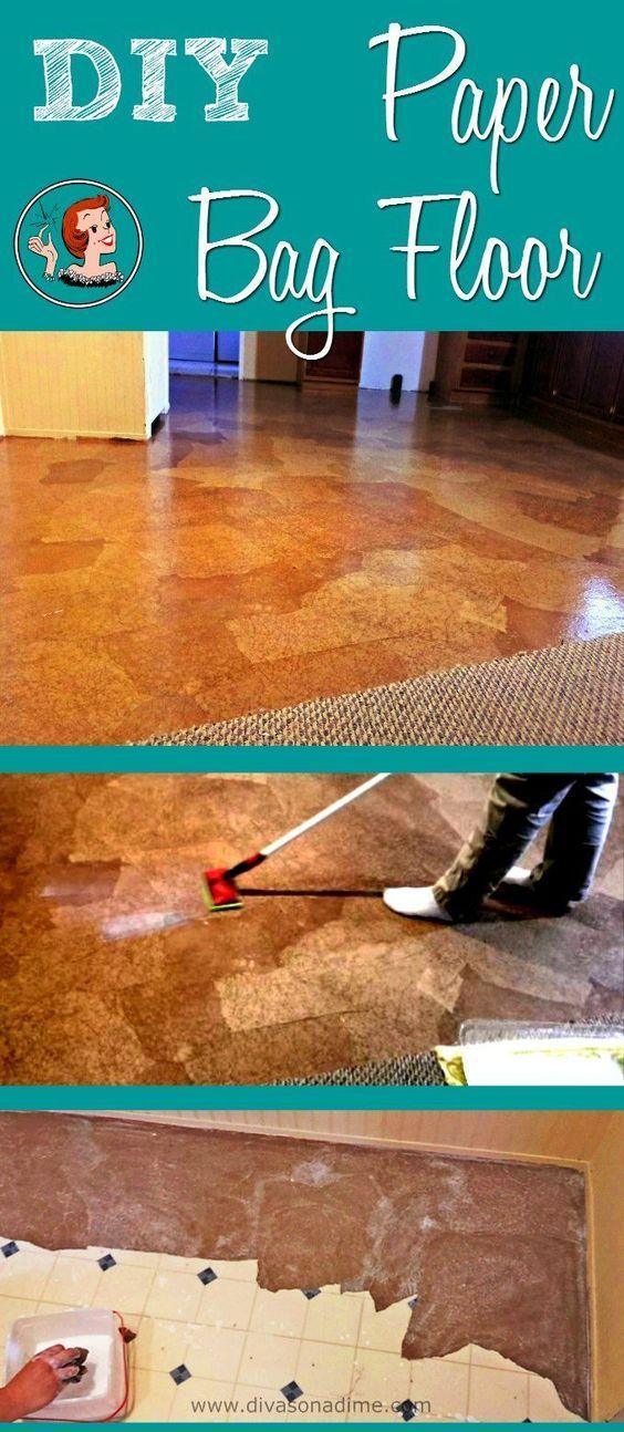 Paper Bag Floor Step By Step Tutorial How To Make A Paper Bag Floor