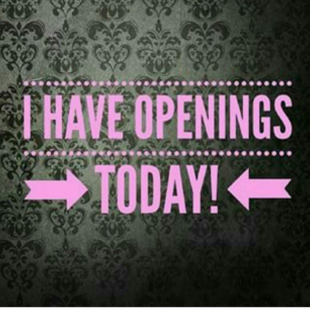 I Have Openings Today Text 6012916892 For Appts And Prices