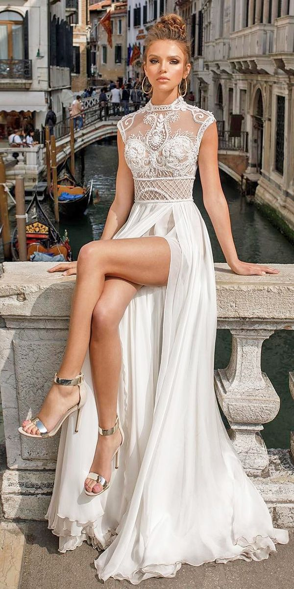 2e1f38cccb4 Top 30 Designer Wedding Dresses 2018 ❤ See more  http   www.