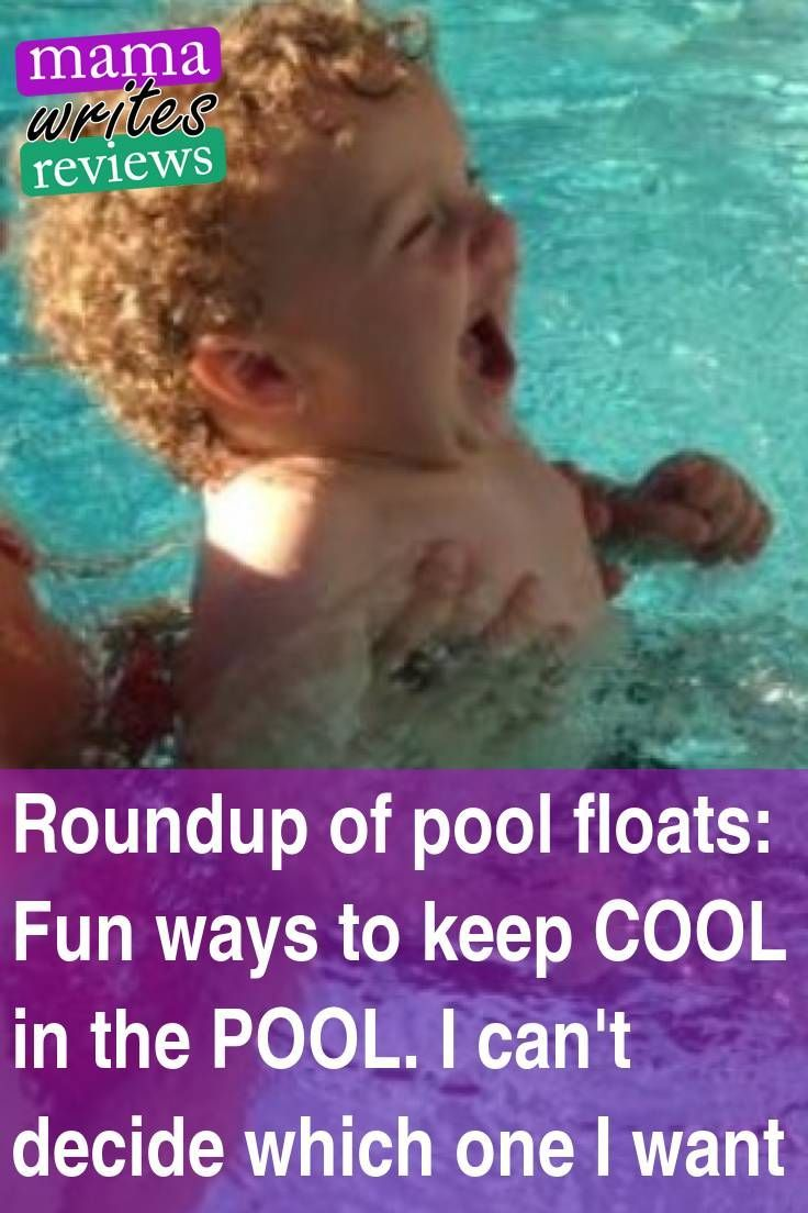 Roundup of pool floats: Fun ways to keep COOL in the POOL. I can't decide which one I want Pool season is coming! Well, it is coming sooner here in south Texas where we actually went swimming in our kiddie pool back in FEBRUARY!