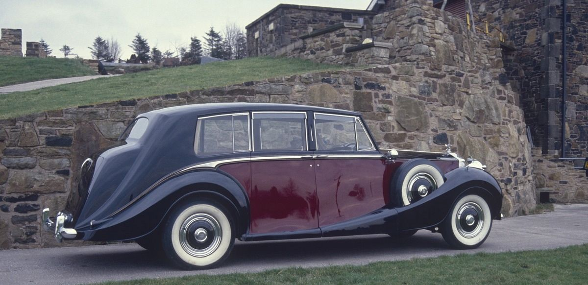 1951 Limousine by Hooper (chassis 4AF10, body 9663, design 8292) for