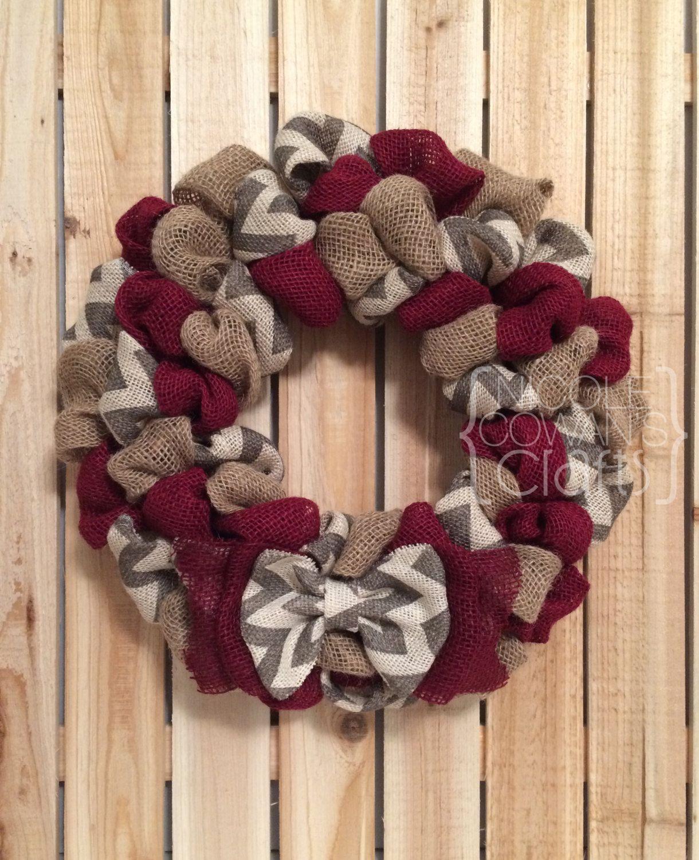 How to Make a Spring DIY Burlap Wreath   Wreath tutorial, Wreaths ...