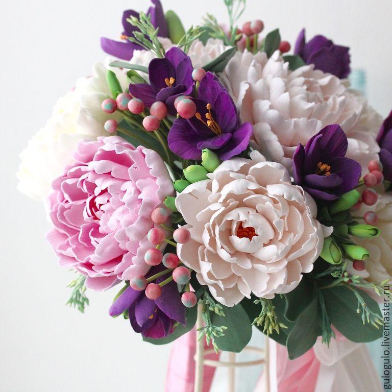 Купить цветы из глины полимерной