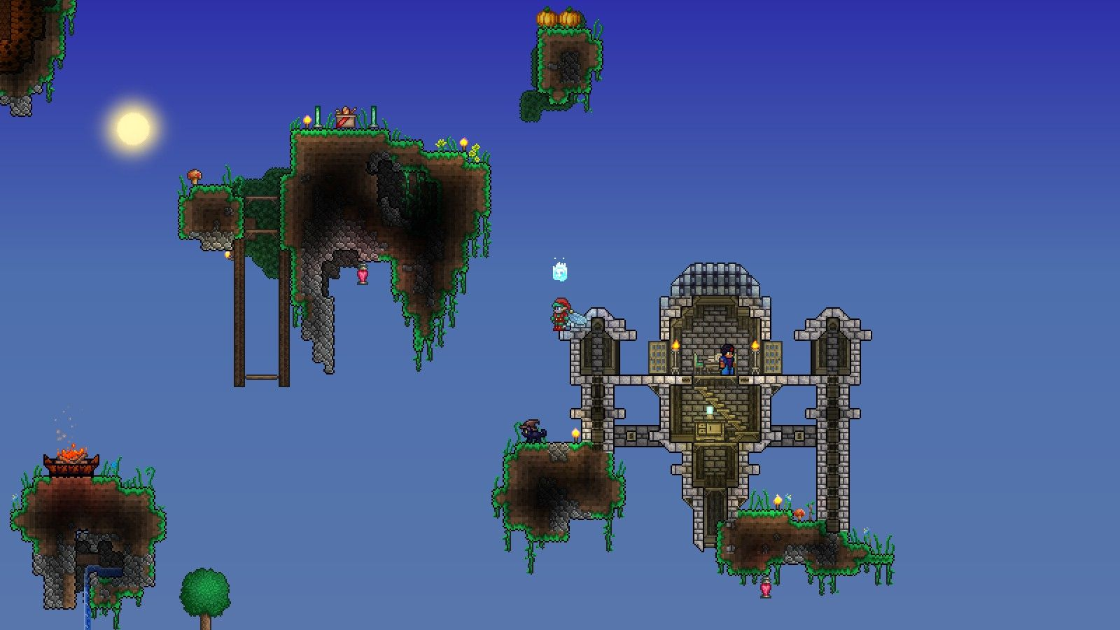 Terraria Floating Islands Terrarium Floating Terraria House