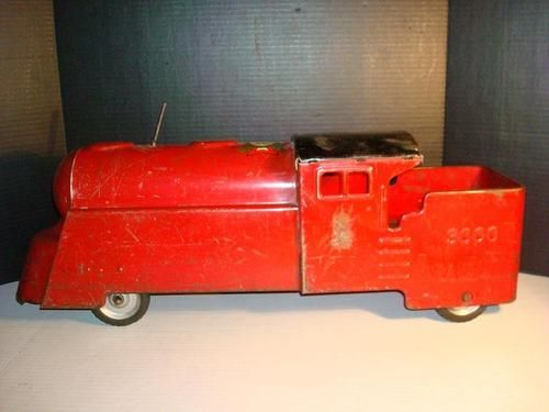 "VINTAGE 1950's ""MARX"" LIGHTNING EXPRESS 3000 PRESSED STEEL ..."