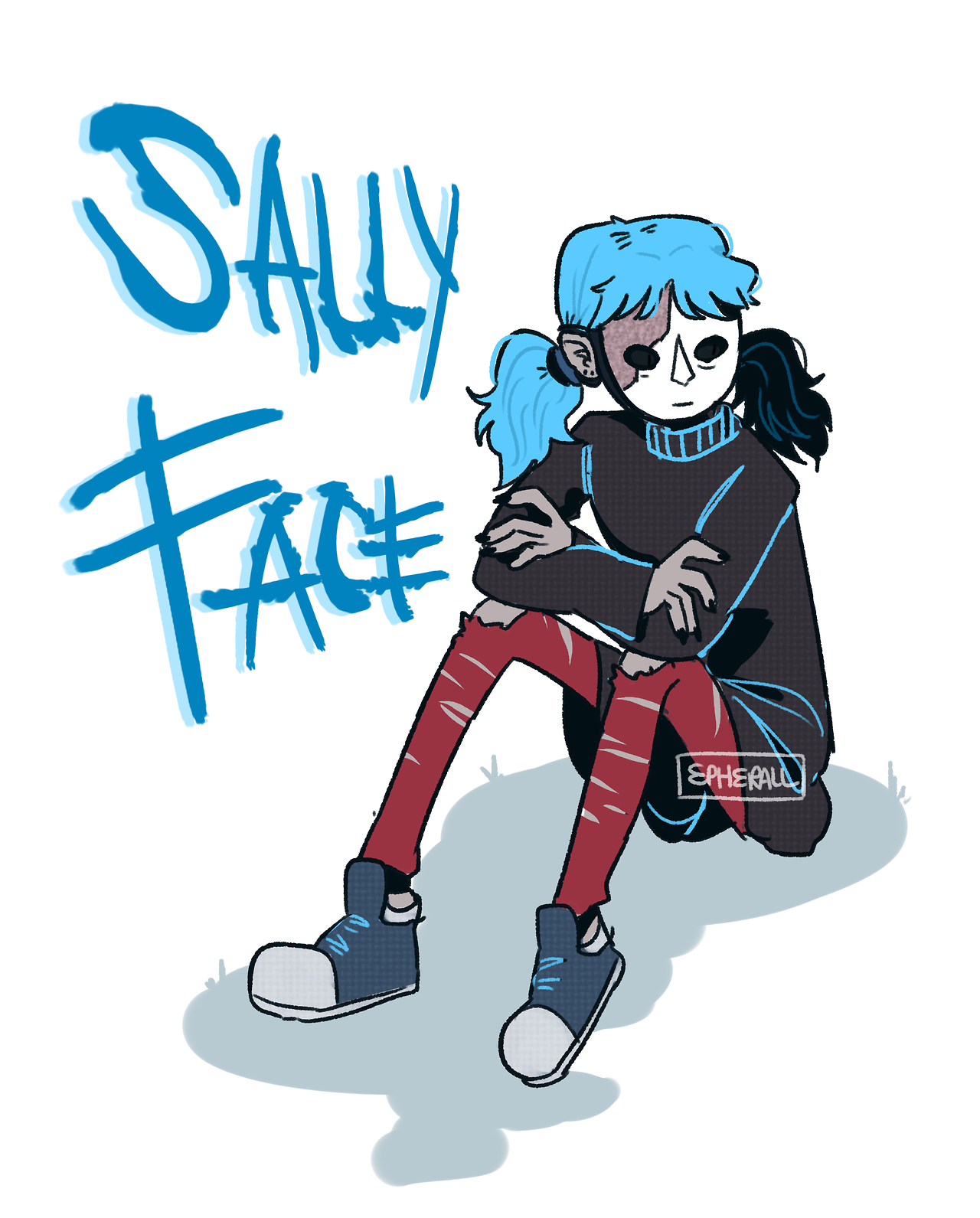 Take What You Can Get Sally face game, Edgy kid, Sally