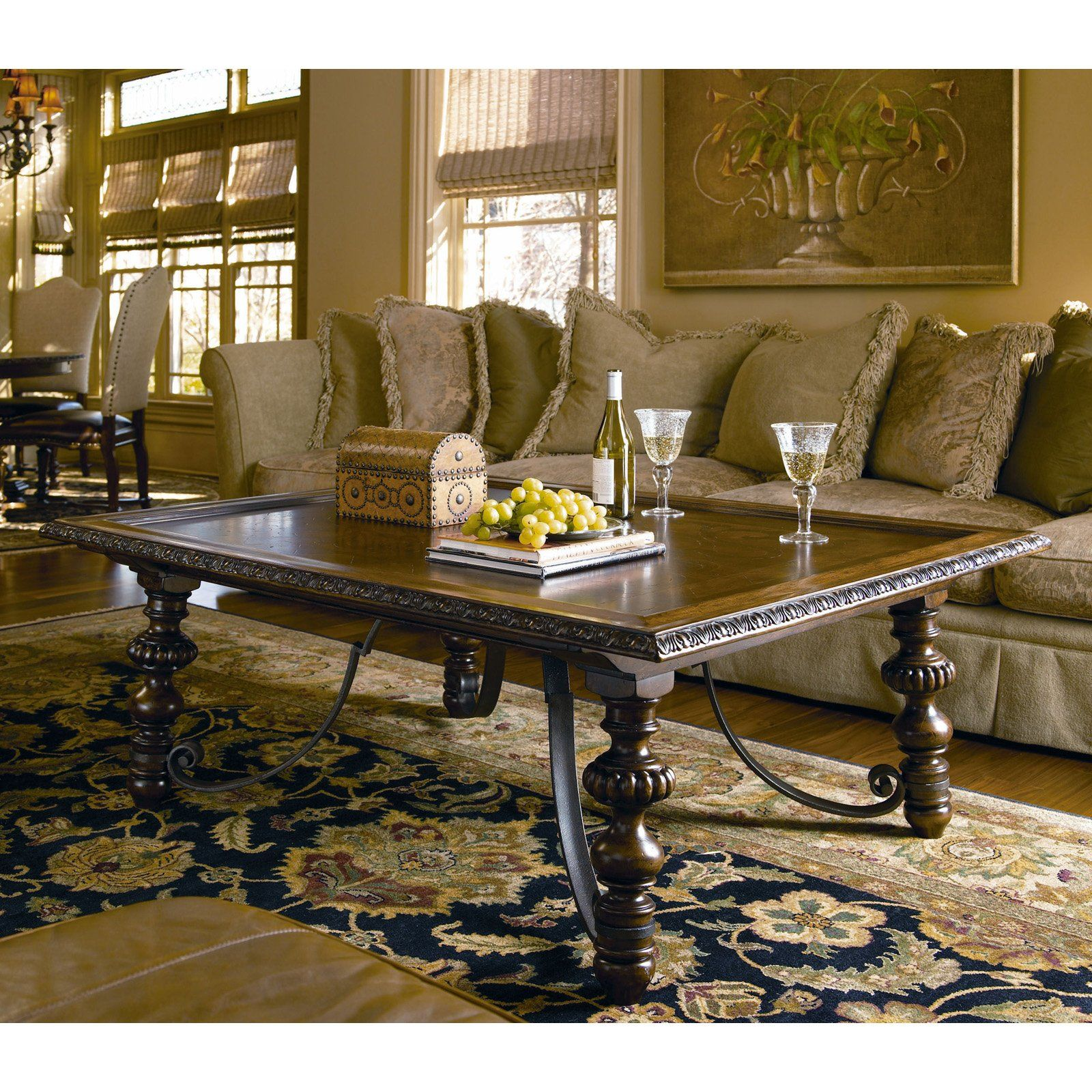 Have to have it Bolero Rectangular Coffee Table Old World $960