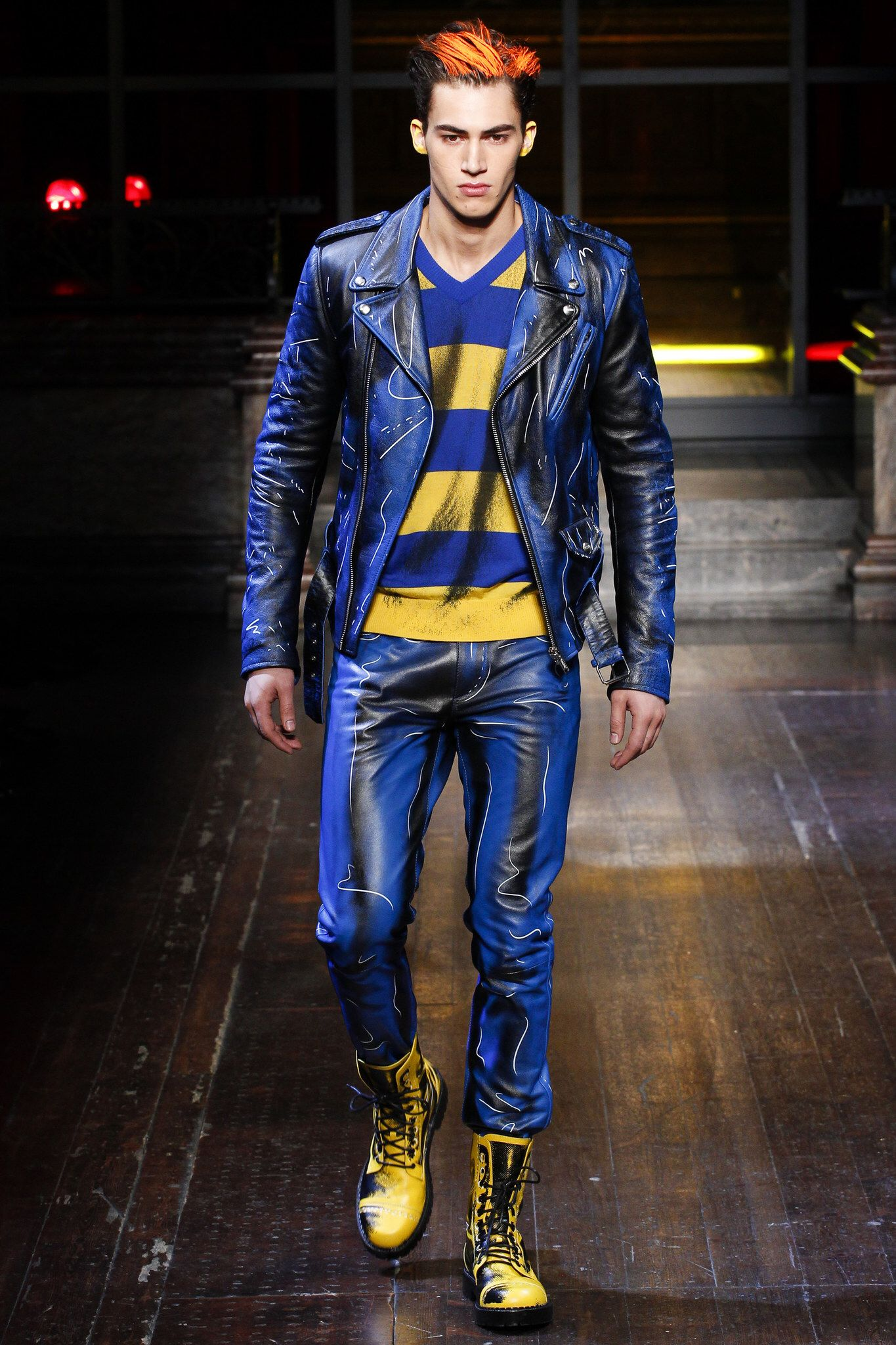 moschino - fall 2016 menswear