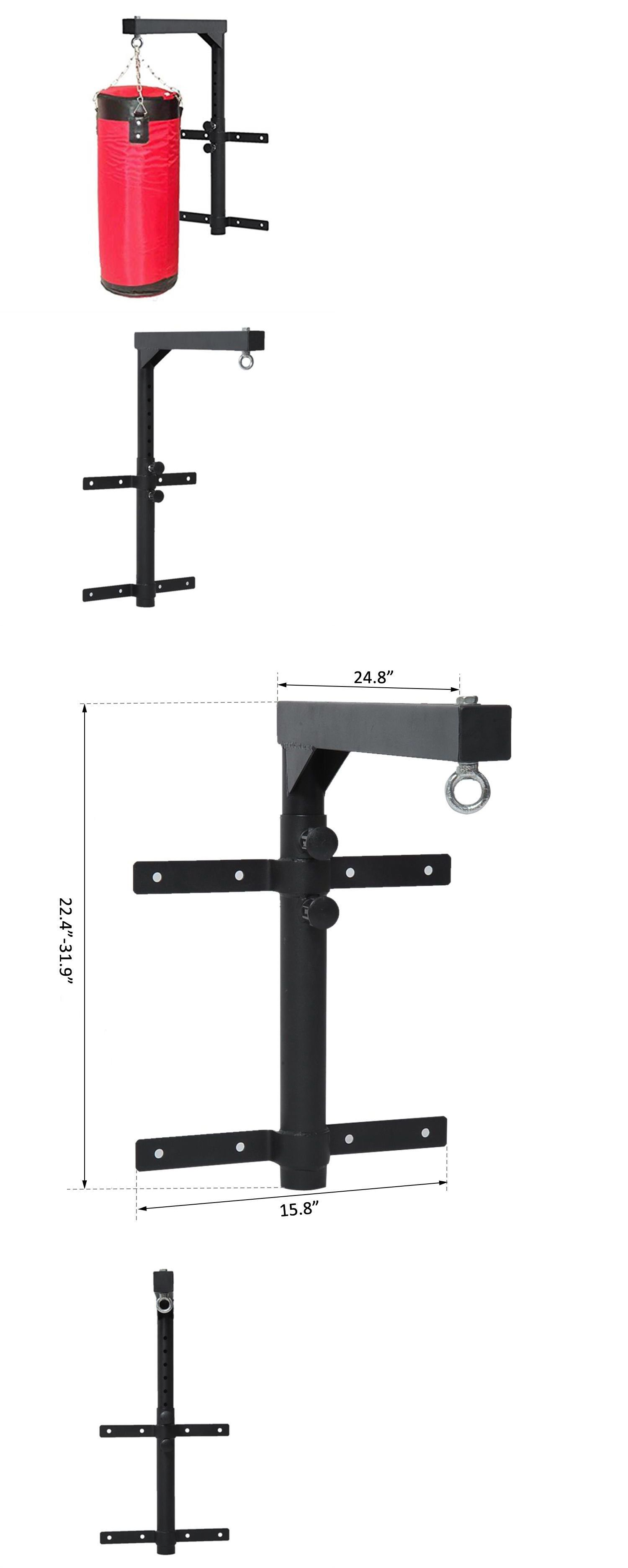 Bag Stands Platforms And Accs 179785 Boxing Punching Bag Wall Mount Hanger Bracket Steel Adjustable Stand Training Us Gym Decor Punching Bag Home Gym Decor