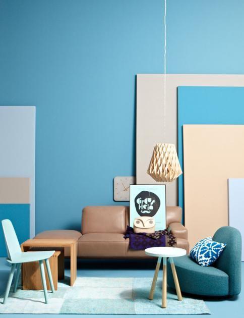 Mit Blautonen Einrichten Innenraumfarben Schoner Wohnen Haus Deko