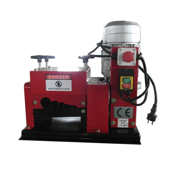 BS-002 wire stripper machine | How to separate copper and plastic ...
