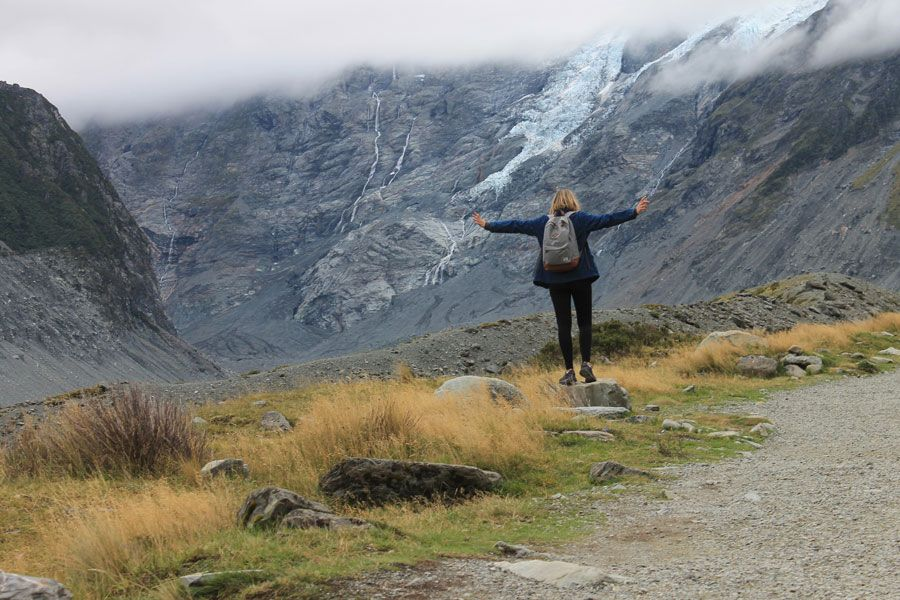 New Zealand, Hooker Valley Track