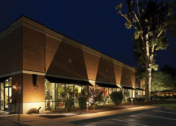 Commercial Exterior Lighting With
