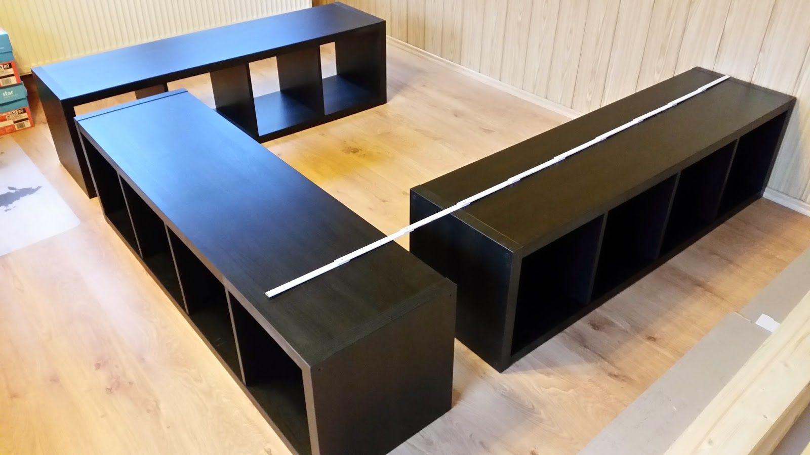 Kallax Bed Frame Dream Home Ideas Ikea Hack Ikea Bed Hack Kallax