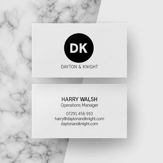 Customised Modern Business Cards Black And White Circle Modern Business Cards Black Modern Business Cards Black Business Card