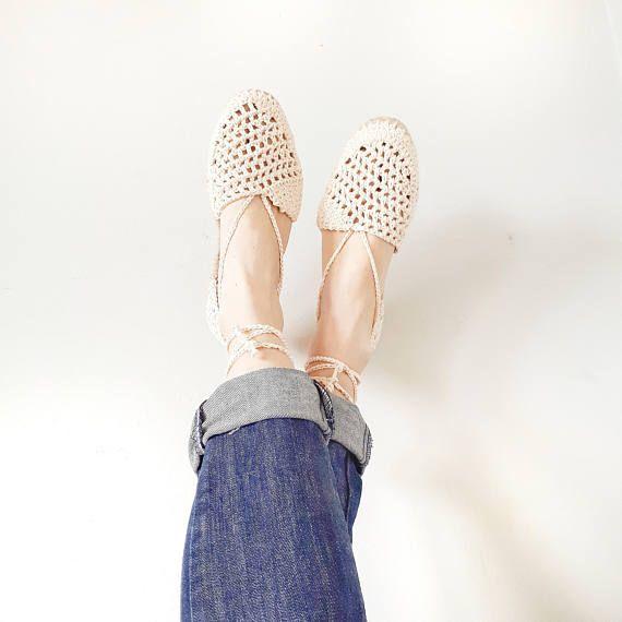 Crochet espadrilles pattern crochet shoes pattern crochet | a ...