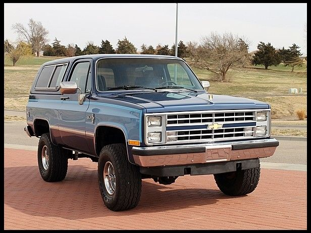 1985 Chevrolet K5 Blazer 350 350 Hp Automatic At Mecum Auctions