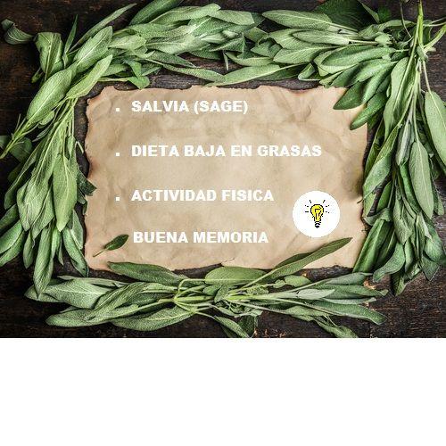 Incluir #Salvia, tambien conocida como #Sage, a nuestra lista de #Especias, podría ser muy beneficioso para nuestra memoria. blogclinicaguerra.com