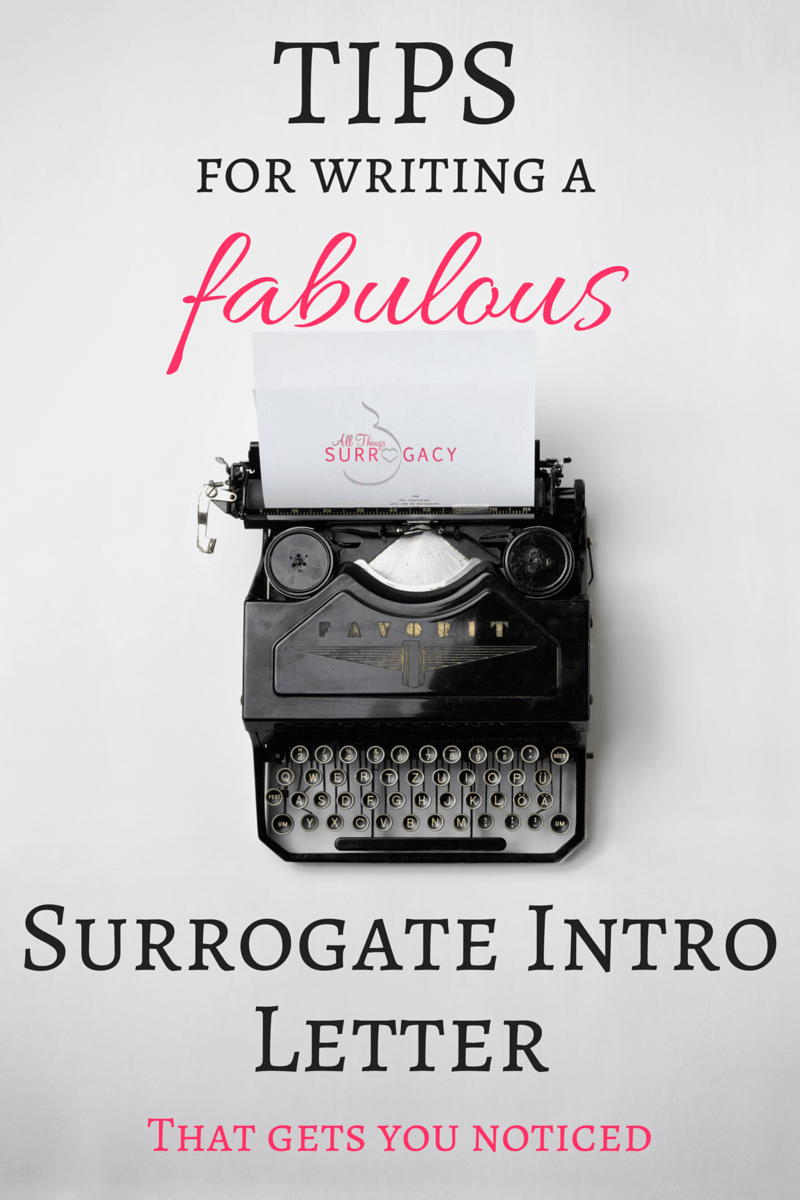 Great Tips For Writing A Surrogate Letter To Intended Parents  All