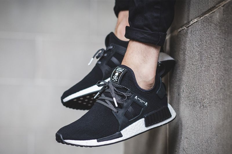 new concept e60a4 159a2 BA7926 Japan x adidas NMD XR1 Black On Feet
