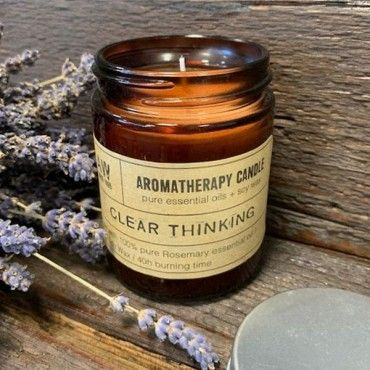Aromatherapy Candle - Clear Thinking | House of Solace