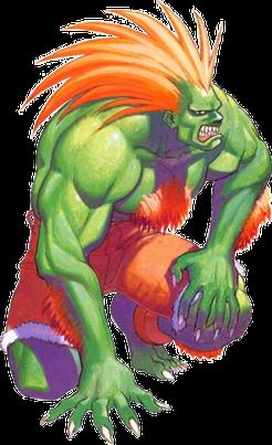 Blanka Wikipedia Street Fighter Characters Street Fighter Art Blanka Street Fighter