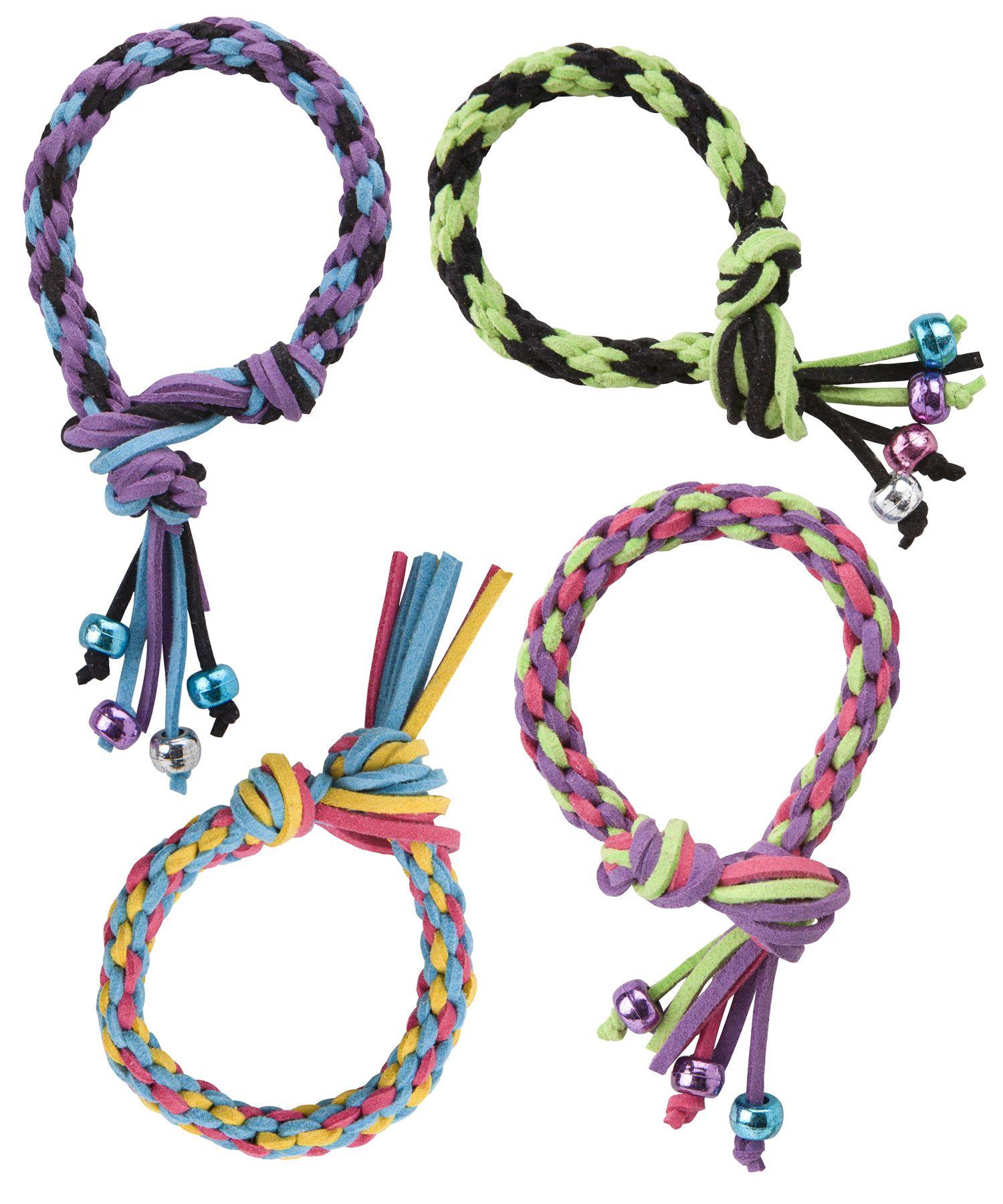 Alex toys doityourself wear faux leather friendship bracelets kit
