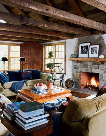 Rustic & cozy!